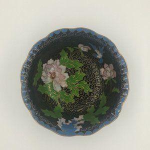 Cloisonné Vintage Bowl